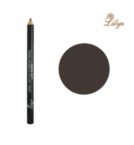 Long-Lasting Eyebrow Pencil – Dark Brown
