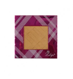 Lilyz I Design Single Eyeshadow And Highlight Sunshine Gold Colour No.47