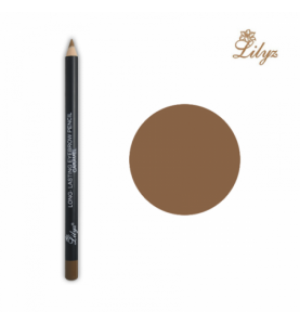 Long-Lasting Eyebrow Pencil–Caramel