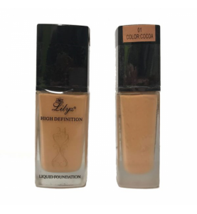 Lilyz High Definition Liquid Foundation – 01 COCOA