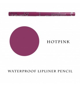 Waterproof Lipliner Pencil - Hot Pink