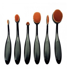 6PCS Oval Brush Set
